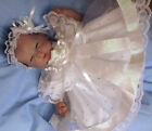 "DREAM 14-16"" REBORN DOLLS  3-5 LB BABY SPARKLES VOILLE white or pink DRESS hbd"