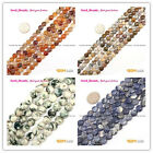 "Fashion 8mm Coin DIY Jewelry Making Loose Beads Strand 15"" Materials Select"
