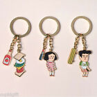 Du-dum Key Ring Holder Strap Camera Bag Pouch Fashion Keyring Cute Animation