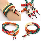 108 Tibetan Sandalwood Buddhist Meditation Prayer Bead Mala Bracelet Necklace