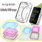 Colorful Ultra Clear slim Crystal TPU Case cover skin for Apple Watch iWatch