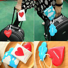 PoP Cute Travel Set Passport Holder + Luggage Tag Cute Love/Cloud Design New