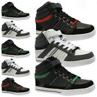 NEW MENS DESIGNER HI TOPS TRAINERS BASKETBALL SKATE ANKLE BOOTS PUMPS SHOES SIZE