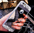 """Fashion Crystal Mirror TPU Case Cover Skin For iPhone 5/5s 6 4.7"""" 6 plus 3 Color"""