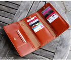 Layered Pass Wallet Trifold Purse Card Coin Money Pocket Fashion Cute Organizer