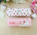 Molang Eco Slim Pencase Pen Pouch Holder Storage Organizer Cute Bag Zip Around