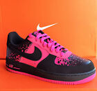 NIKE AIR FORCE 1 - Mens Casual New Shoes - Black/Pink - 488298 616