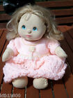 RARE vintage my child doll. blonde hair and blue eyes