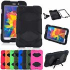 """For Samsung Galaxy Tab 4 8.0""""/ 8-inch T330 Tablet Armor Rugged Cover Hard Case"""
