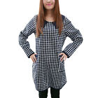 Pregnant Women Peter Pan Collar Long Sleeve Casual Dress