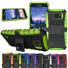 Hybrid Impact Armor Rugged Hard Case Cover Stand For Samsung Galaxy S6 Active