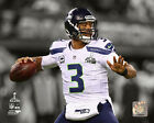 Russell Wilson Seattle Seahawks Super Bowl Spotlight Photo QQ054 (Select Size)