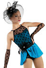 NEW 'Hollywood' Blue Black Jazz Tap Musical Theater Dance Competition Costume