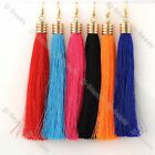 2pc Golden Hook Dangle Tassel Earring Womens Party Casual Style Multi-Color