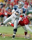 Troy Aikman Dallas Cowboys NFL Action Photo (Select Size)