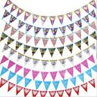 Cute Girls Boy Birthday Party Flag Banner Bunting Pennant Flags Decorations - CB