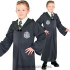 CK453 Slytherin Robe Harry Potter Wizard Child Boys Book Week Fancy Costume