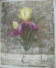 FLOWER ART 30 IMAGES 2 CHOOSE FROM 7 OIL PAINTING ROLLED OR STRETCHED 20X24""