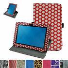 360° Rotating Cute Pattern Case+Pen for Dell Venue 10 5050 Android Tablet