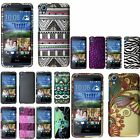 For HTC Desire 626 Rubberized Design Hard Snap On Plastic Cover Back Case