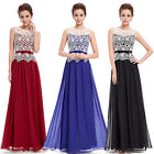 Women's Sleeveless Chiffon Maxi Formal Evening Cocktail Party Dress 08429