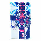 For Samsung Galaxy S6 S5 S4 S3 Fashion Wallet Stand Flip PU Leather Cover Case