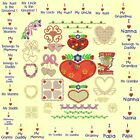 Hearts & Flowers Machine Embroidery Designs- 55 Anemone Embroidery Designs