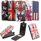 "New Fashion Flip Printed PU Leather Wallet Case Cover Skin For 4"" Nokia Lumia520"