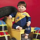 "Lee Middleton Start Your Engine Little Nascar Boy, 19"" Vinyl and Cloth Doll"