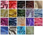 "Bridal Shiny Satin Curtain Drape Panel Backdrop 60"" wide x 120"" long (10ft)"