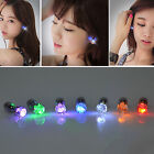 CHIC Women LED Light Up Bright Earring Ear Stud Luminous for DJ Dance Party Bar
