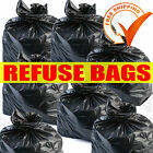 SIMATEX POLY HEAVY DUTY BLACK REFUSE SACKS BIN LINER RUBBLE BAGS 180g 100L