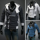 Clearance !Mens Hooded Slim Coat Cardigan Sweater Fleeces Warm Jacket Sweatshirt