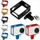 Aluminum Protective Shell Frame Case W/ Mount For Xiaomi Yi Xiaoyi Sports Camera