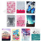 For Apple iPad Samsung Tablets Terrific Card Stand Case Synthetic Leather Cover