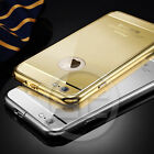 I3C Metal Aluminum Brushed Mirror Back Cover Case Skin For iPhone 6/6 Plus ev