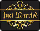 CYPRUS JUST MARRIED Car Magnets WEDDING SIGN Banner