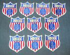 Lot of 10 Boy Scouts of America BSA Exploring Explorer Olympics Patches