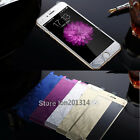 Rhombus 3D Tempered Glass Film Screen Protector For iPhone 5 5s 6 6 Plus Color