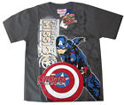 Avengers Ultron Captain America boys t-shirt Size 6,8,10,12 Age 4-9y Free Ship