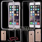 for iPhone 6 plus 6s plus clear transparent silicone gel case cover with bumper
