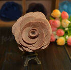 1Pc Mixed Lapel Flower Daisy Handmade Boutonniere Stick Brooch Pin Men Suit Accs