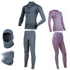 Forcefield Base Layer Long Short Sleeve T-Shirt Pants Balaclava Neck Tube Riding