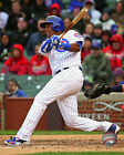 Starlin Castro Chicago Cubs 2015 MLB Action Photo RW003 (Select Size)