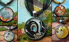 DISNEY ANIMALS ALIENS MONSTERS ROUND NECKLACE MICKEY EEYORE TRAMP DUMBO THUMPER
