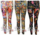 WOMENS LADIES BARBIE DOLL PRINT LEGGING TROUSER FULL ANKLE LENGTH LEGGINGS 8-14
