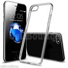 TPU SOFT SILICONE CLEAR GEL BACK CASE COVER FOR iPHONE 5 6 7 SCREEN PROTECTOR