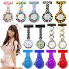 Fashion Style Nurse Clip-on Fob Brooch Pendant Hanging Pocket Watch Fobwatch
