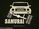 Suzuki Samurai Flexing_JX Sami Stone Crawler_Sticker/Decal -06