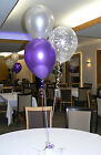 Engagement Party Balloons 10 Table Decorations DIY Kit Many Colours To Choose